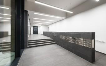 Elisenhof Refurbishment Eingangshallen